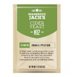 Mangrove Jacks Craft Series Yeast - Cider M02