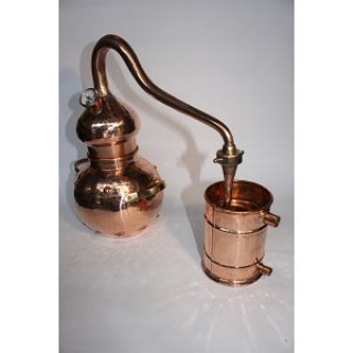 CopperGardenDestille Alembik 2L & Thermometer